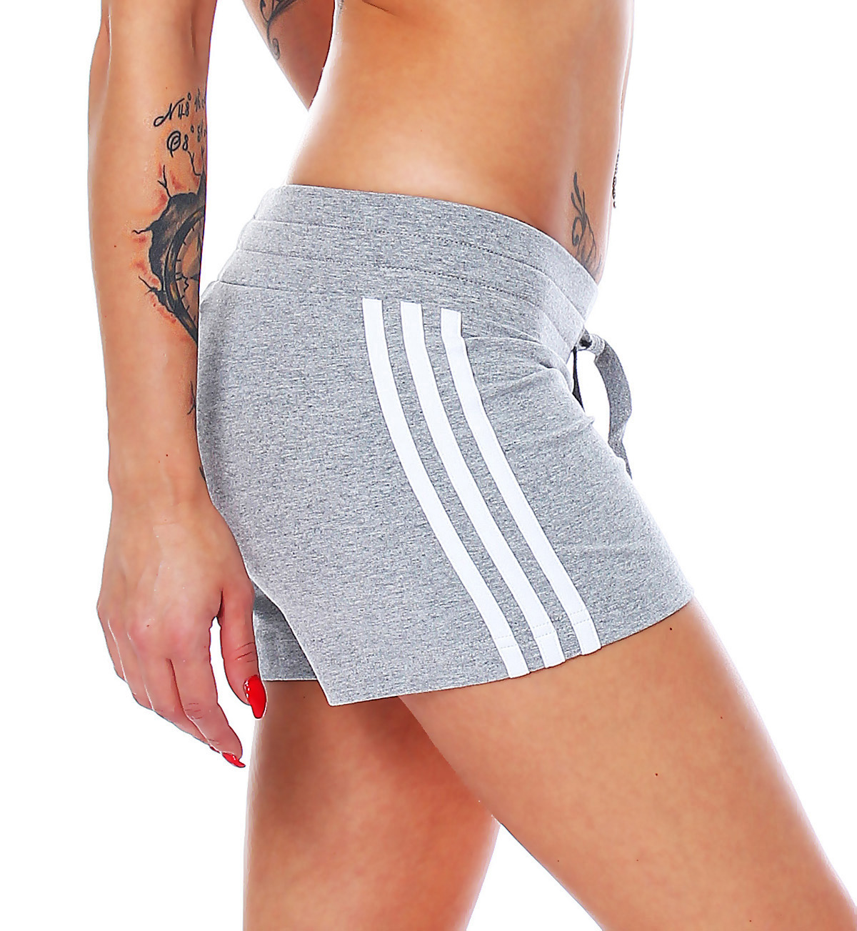 details about adidas ess 3s kt short damen fitness freizeit kurze hose. Black Bedroom Furniture Sets. Home Design Ideas