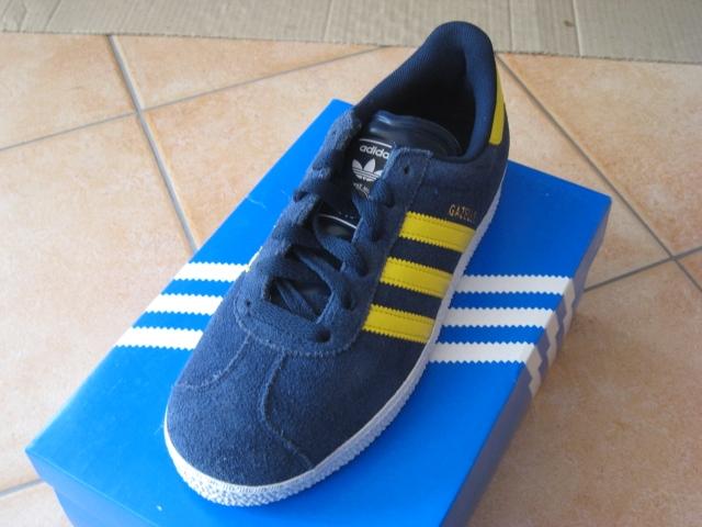 Adidas Gazelle Blau Gelb