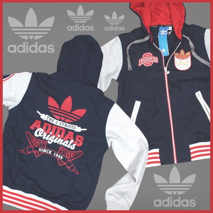 ADIDAS Jacke Originals Hoody Hoodie College Style Varsity XS