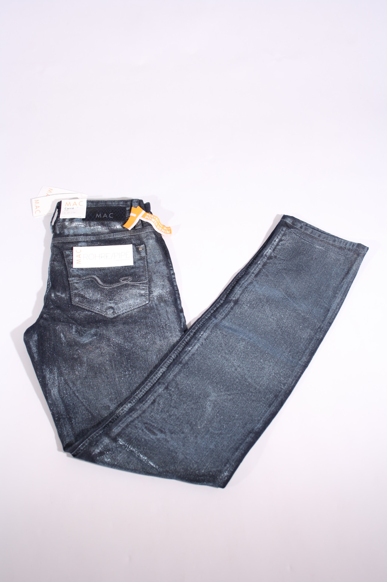 mac stretchhose jeans carrie pipe 0307 96 d060 dunkelblau. Black Bedroom Furniture Sets. Home Design Ideas