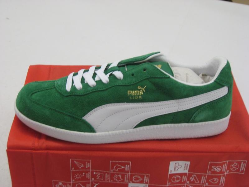 puma sneaker suede grün