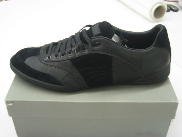 puma dassler standpunkt sneaker 39 45 herren schuhe leder schwarz ovp 35161201 ebay. Black Bedroom Furniture Sets. Home Design Ideas