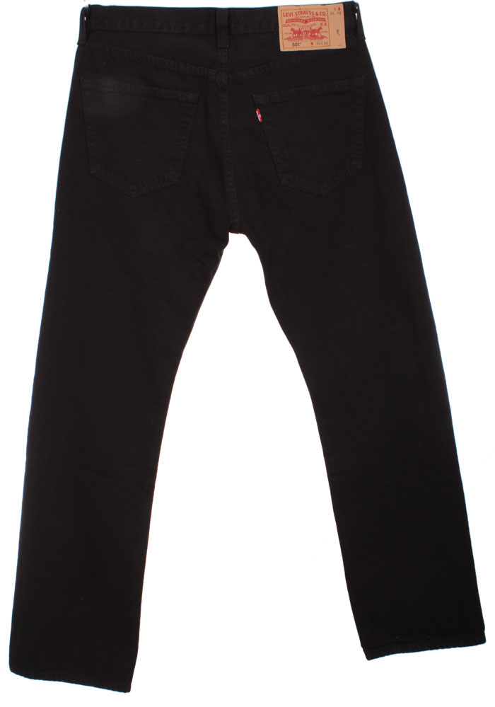 levis 501 jeans schwarz button fly w31 w36 neu 5010165 ebay. Black Bedroom Furniture Sets. Home Design Ideas