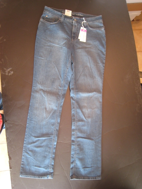 Mac Jeans Melanie dunkelblau 0307L 24 D636 Stretch NEU on