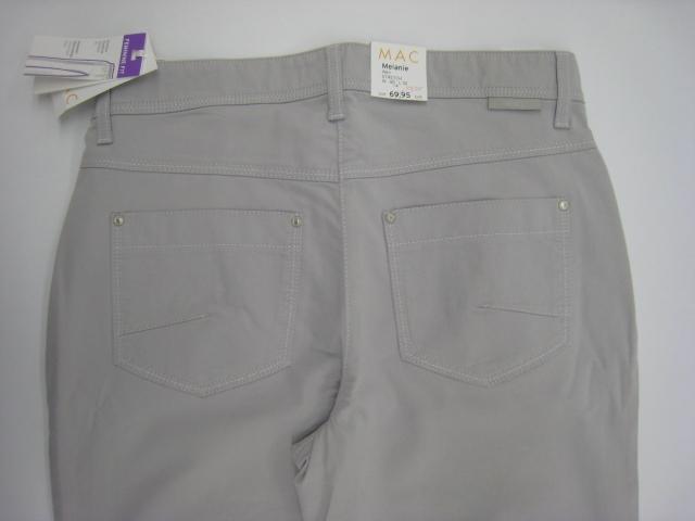 mac melanie stretch jeans damenjeans damenhose 40 30 grau. Black Bedroom Furniture Sets. Home Design Ideas