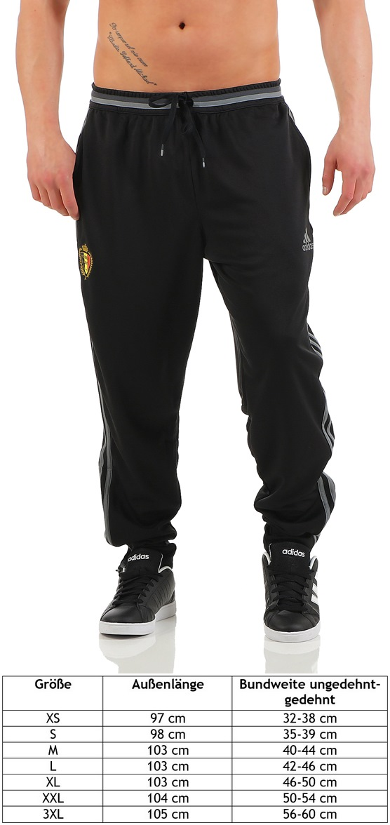 d463d9400433fb Adidas Herren 3S Hose Belgium Pant Trainingshose Jogginghose ...