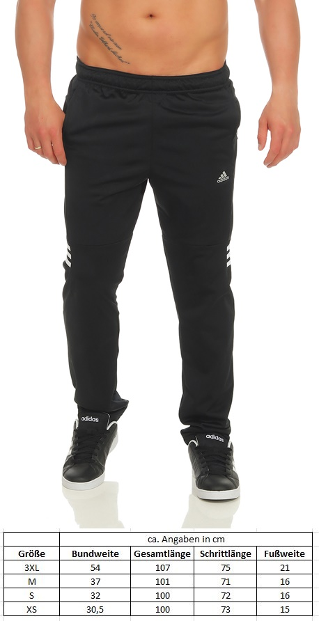 acfc851ddb1f85 Adidas Trainingshose Herren Basemid Pant KN Climalite Jogginghose ...