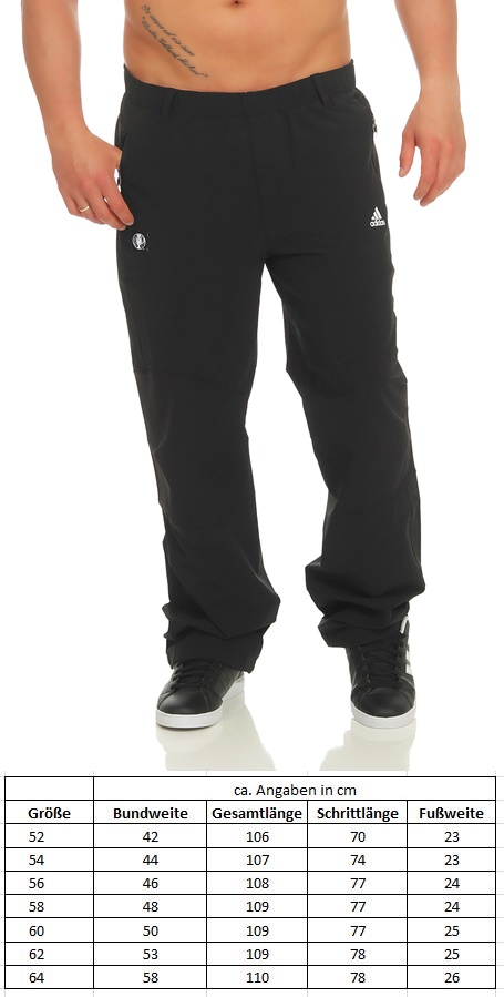 Details zu Adidas Herren Trainingshose EC16 Trousers Sport Jogginghose Hose schwarz AI3151