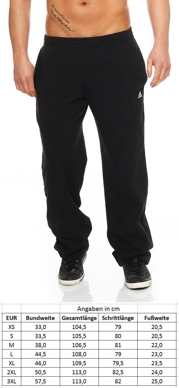 ee1f89d3dce937 Adidas ESS LISW PT OH Sweat Jogging Pant Herren schwarz Fitness NEU X20551