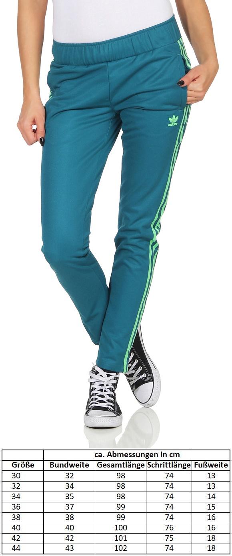 Details zu Adidas Damen Trainingshose Jogginghose petrol Sporthose Hose Originals S19792
