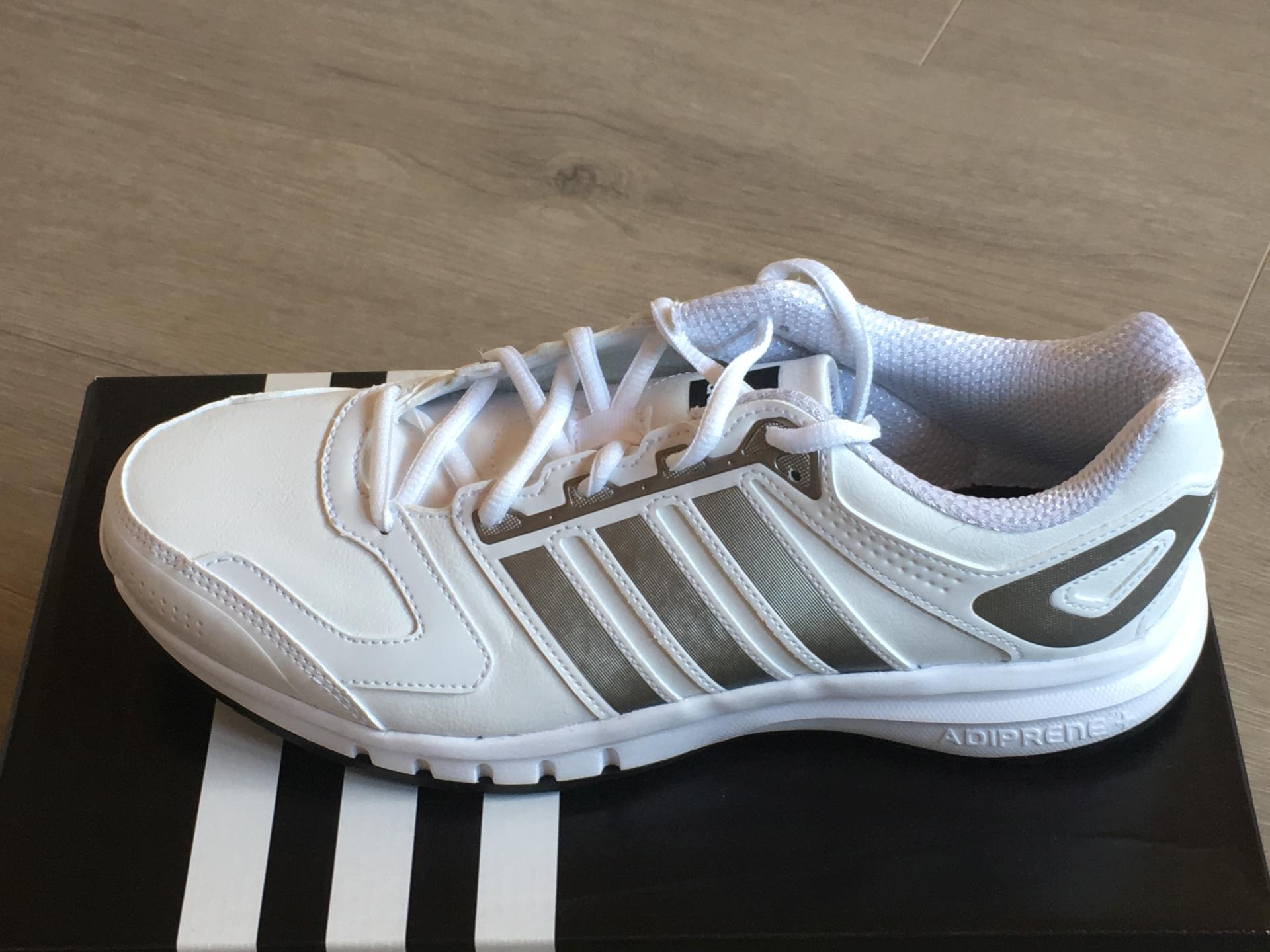 Details zu Adidas Galaxy LEA M Herren weiß silber Laufschuhe Sneaker Schuhe Jogging M21899