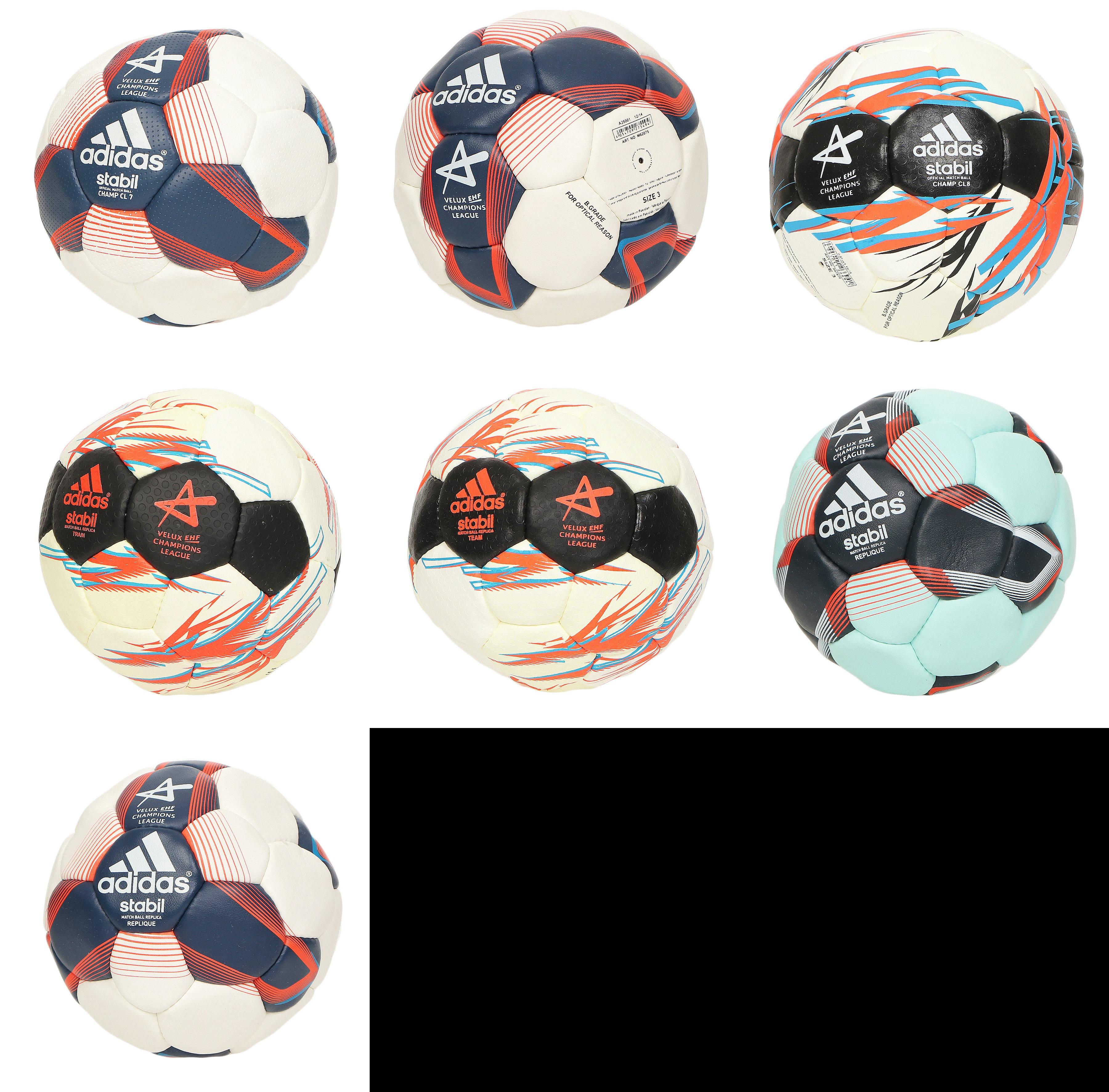 Details zu Adidas Stabil Handball Matchball Trainingsball Ball Bälle EHF Champions League