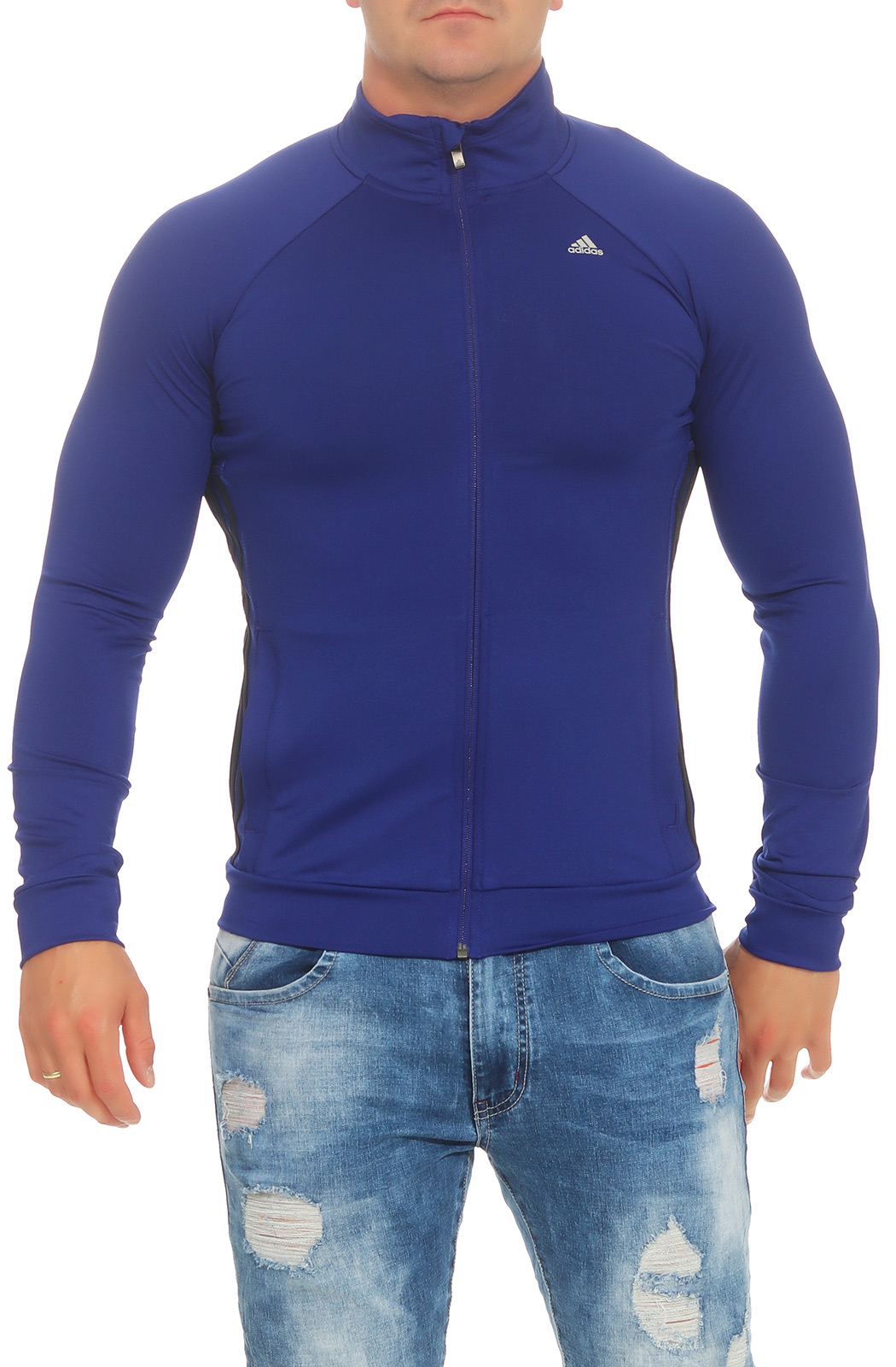 Adidas Herren 3S ESS Warm Up Trainingsjacke Sport Jacke