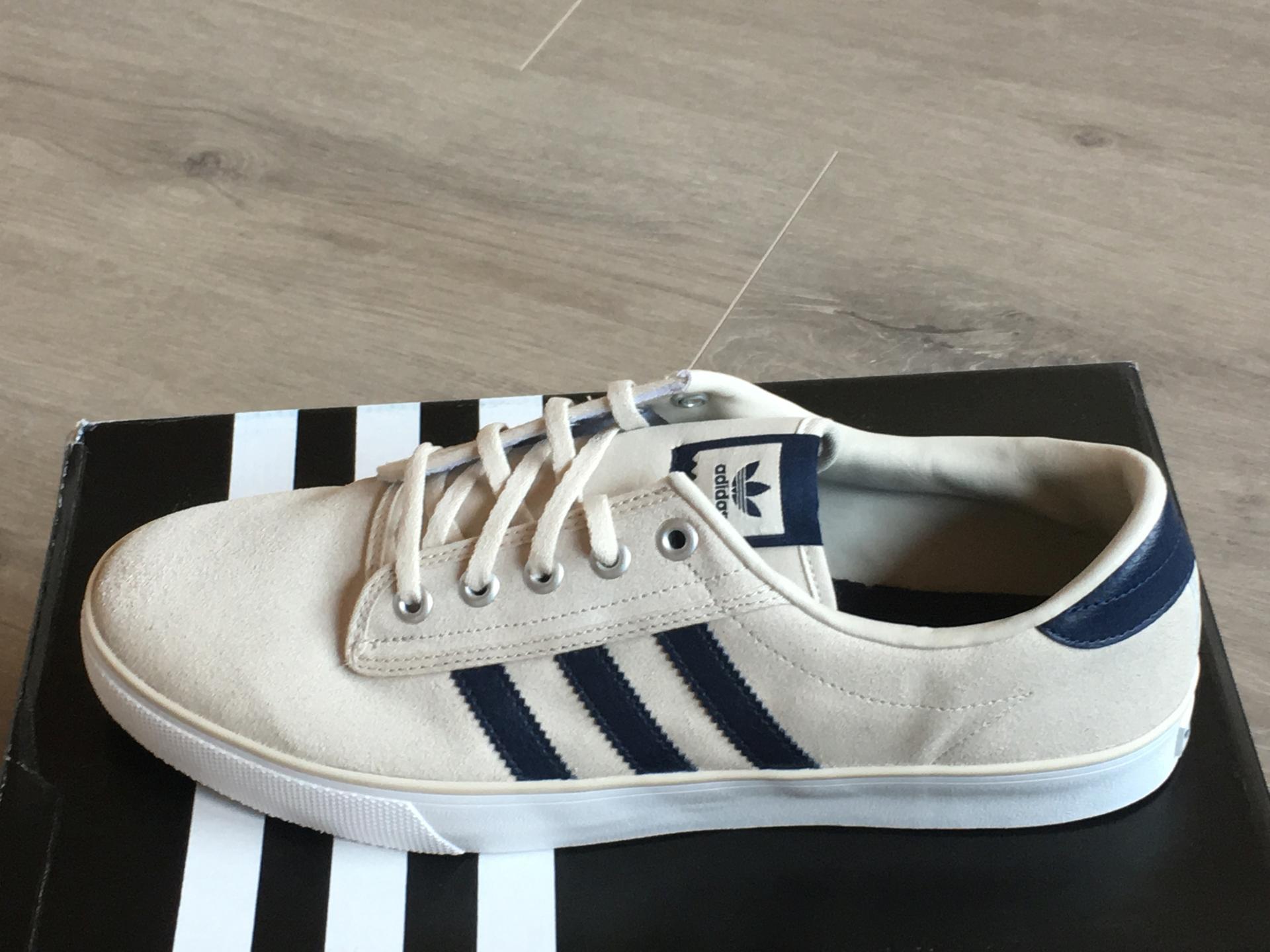 ADIDAS KIEL SCHUHE Herren Originals Sneaker hellbraun blau