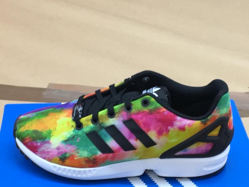 Details zu Adidas ZX Flux Sneaker Sportschuhe multicolor Ortholite Damen Kinder S74958