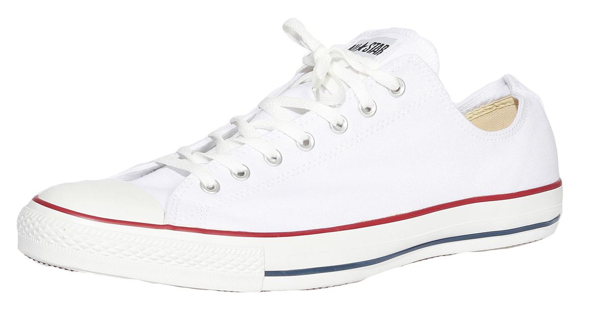 Details zu Converse All Star OX Sneaker Stoff Herren optical white weiß NEU/OVP X7652