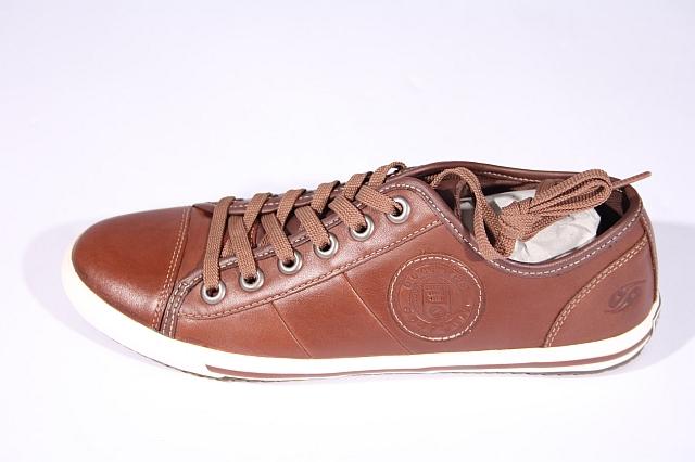 size 40 ee452 c6a6f Details zu Dockers Sneaker Schuhe Damen Leder braun Damenschuhe Halbschuh  NEU 306220-002051